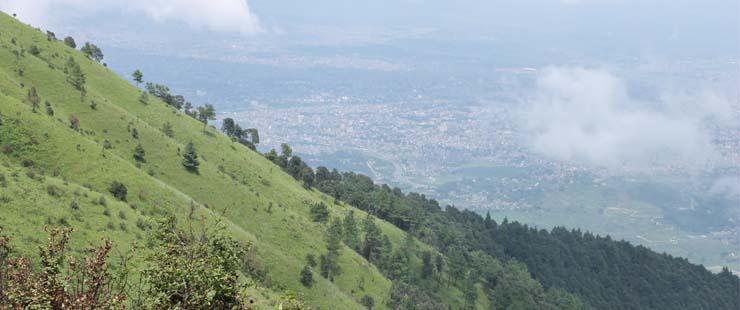 Chandragiri hiking